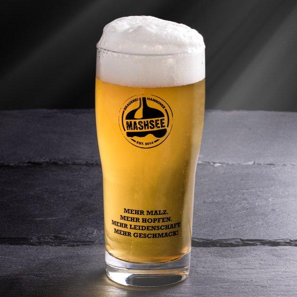 Mashpack // 8 x 2 Biere + 2 Gläser